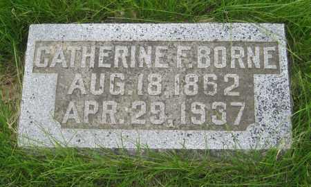 BRUGMANN BORNE, CATHERINE - Otoe County, Nebraska | CATHERINE BRUGMANN BORNE - Nebraska Gravestone Photos