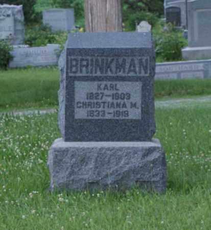 BRINKMAN, KARL - Otoe County, Nebraska | KARL BRINKMAN - Nebraska Gravestone Photos