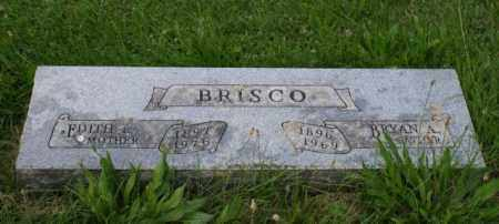 BRISCO, EDITH L. - Otoe County, Nebraska | EDITH L. BRISCO - Nebraska Gravestone Photos