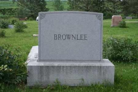 BROWNLEE, FAMILY - Otoe County, Nebraska | FAMILY BROWNLEE - Nebraska Gravestone Photos