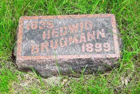 REIMER BRUGMANN, HEDWIG - Otoe County, Nebraska | HEDWIG REIMER BRUGMANN - Nebraska Gravestone Photos