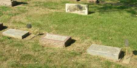 CAMPBELL, JOHN R., VELMA & CHESTER W. - Otoe County, Nebraska | JOHN R., VELMA & CHESTER W. CAMPBELL - Nebraska Gravestone Photos