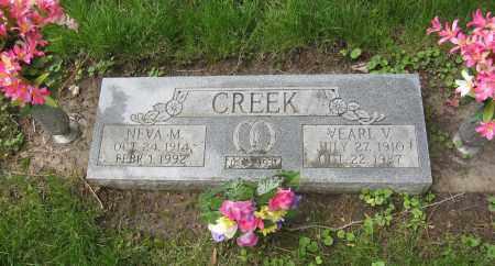 CREEK, NEVA M. - Otoe County, Nebraska   NEVA M. CREEK - Nebraska Gravestone Photos