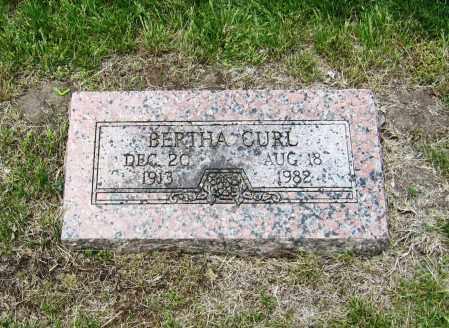 BROERS CURL, BERTHA - Otoe County, Nebraska | BERTHA BROERS CURL - Nebraska Gravestone Photos