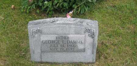 DAMME, GEORGE - Otoe County, Nebraska   GEORGE DAMME - Nebraska Gravestone Photos