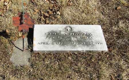 EDWARDS, GUIDE - Otoe County, Nebraska | GUIDE EDWARDS - Nebraska Gravestone Photos