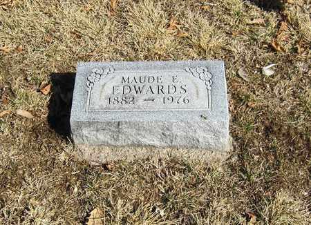 GRANDSTAFF EDWARDS, MAUDE - Otoe County, Nebraska | MAUDE GRANDSTAFF EDWARDS - Nebraska Gravestone Photos