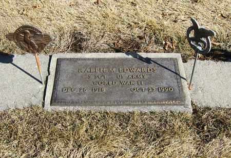 EDWARDS, RALPH - Otoe County, Nebraska | RALPH EDWARDS - Nebraska Gravestone Photos