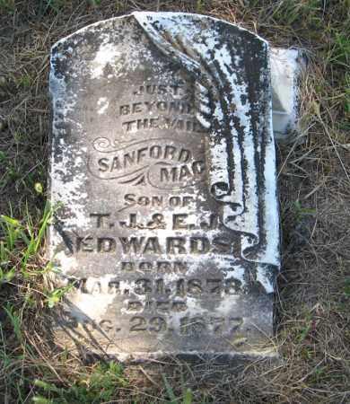 EDWARDS, SANFORD MAC - Otoe County, Nebraska   SANFORD MAC EDWARDS - Nebraska Gravestone Photos