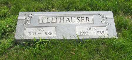 FELTHAUSER, OLIN - Otoe County, Nebraska | OLIN FELTHAUSER - Nebraska Gravestone Photos