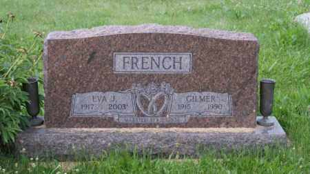 FRENCH, EVA J. - Otoe County, Nebraska | EVA J. FRENCH - Nebraska Gravestone Photos