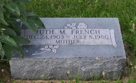 FRENCH, RUTH M. - Otoe County, Nebraska | RUTH M. FRENCH - Nebraska Gravestone Photos