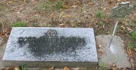 "GAMLIN, DOROTHEA ""DORA"" - Otoe County, Nebraska | DOROTHEA ""DORA"" GAMLIN - Nebraska Gravestone Photos"