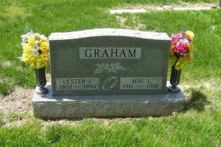 MARTIN GRAHAM, MAE L. - Otoe County, Nebraska   MAE L. MARTIN GRAHAM - Nebraska Gravestone Photos