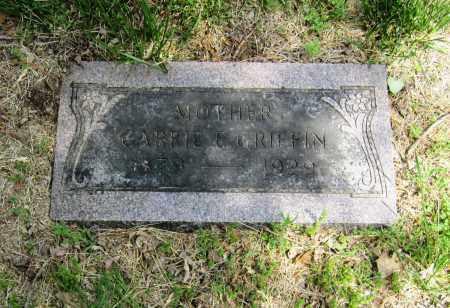 GRIFFIN, CARRIE E. - Otoe County, Nebraska | CARRIE E. GRIFFIN - Nebraska Gravestone Photos
