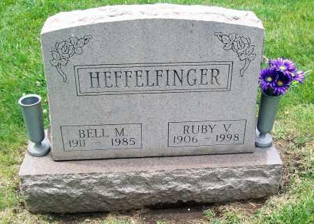 HEFFELFINGER, BELL M - Otoe County, Nebraska   BELL M HEFFELFINGER - Nebraska Gravestone Photos