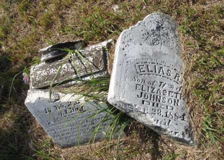 JOHNSON, ELIAS R. - Otoe County, Nebraska | ELIAS R. JOHNSON - Nebraska Gravestone Photos