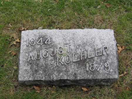 KOEHLER, AUGUST - Otoe County, Nebraska | AUGUST KOEHLER - Nebraska Gravestone Photos