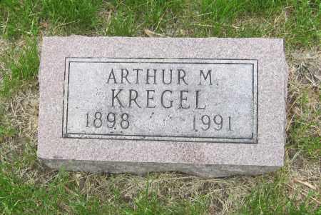 KREGEL, ARTHUR M. - Otoe County, Nebraska | ARTHUR M. KREGEL - Nebraska Gravestone Photos
