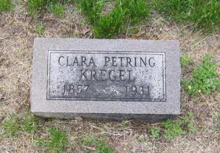 KREGEL, CLARA M. - Otoe County, Nebraska   CLARA M. KREGEL - Nebraska Gravestone Photos