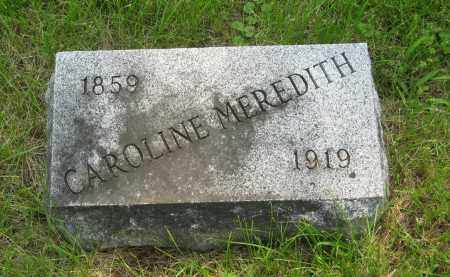 HUSTED MEREDITH, CAROLINE - Otoe County, Nebraska | CAROLINE HUSTED MEREDITH - Nebraska Gravestone Photos