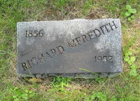 MEREDITH, RICHARD - Otoe County, Nebraska | RICHARD MEREDITH - Nebraska Gravestone Photos