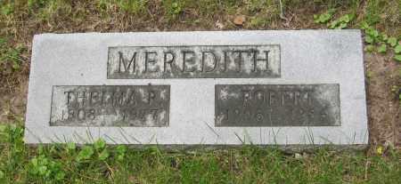 MEREDITH, THELMA R. - Otoe County, Nebraska | THELMA R. MEREDITH - Nebraska Gravestone Photos