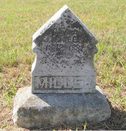 MILLER, J. N. - Otoe County, Nebraska | J. N. MILLER - Nebraska Gravestone Photos