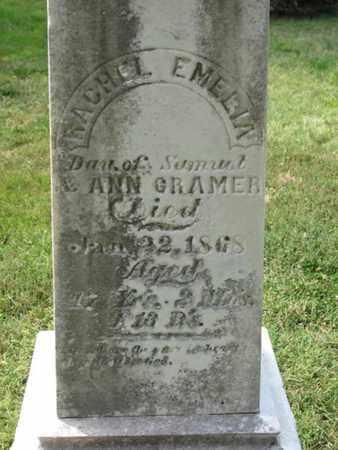 RACHEL, CRAMER - Otoe County, Nebraska | CRAMER RACHEL - Nebraska Gravestone Photos