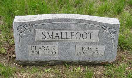 SMALLFOOT, ROY E. - Otoe County, Nebraska | ROY E. SMALLFOOT - Nebraska Gravestone Photos