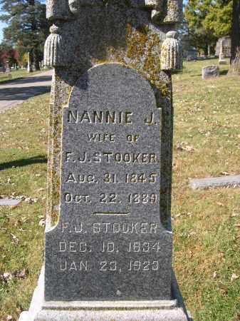 STOKER, F.J. - Otoe County, Nebraska | F.J. STOKER - Nebraska Gravestone Photos