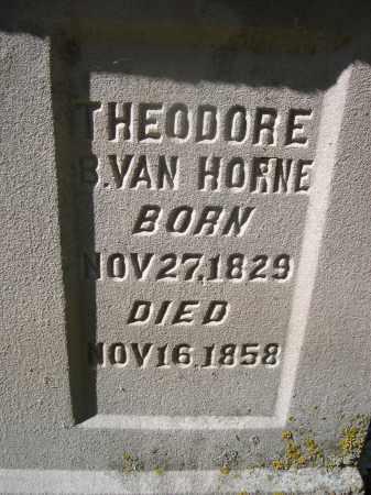 VAN HORN, THEODORE - Otoe County, Nebraska | THEODORE VAN HORN - Nebraska Gravestone Photos