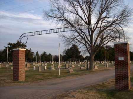 *GRANT FAIRVIEW CEMETERY, ENTRANCE TO - Perkins County, Nebraska | ENTRANCE TO *GRANT FAIRVIEW CEMETERY - Nebraska Gravestone Photos
