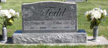 BARTLETT TODD, EVELYN - Perkins County, Nebraska | EVELYN BARTLETT TODD - Nebraska Gravestone Photos