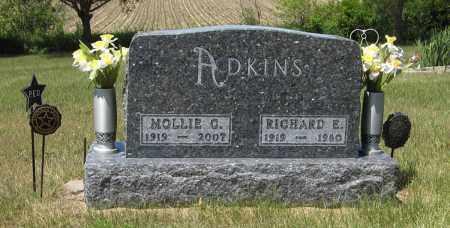 ADKINS, MOLLIE C. - Pierce County, Nebraska | MOLLIE C. ADKINS - Nebraska Gravestone Photos