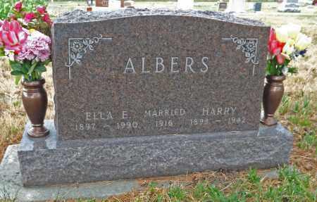 ALBERS, ELLA E - Pierce County, Nebraska | ELLA E ALBERS - Nebraska Gravestone Photos