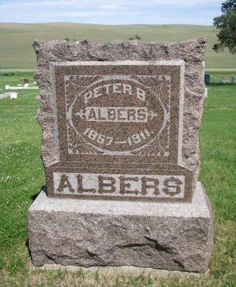 ALBERS, PETER B. - Pierce County, Nebraska | PETER B. ALBERS - Nebraska Gravestone Photos