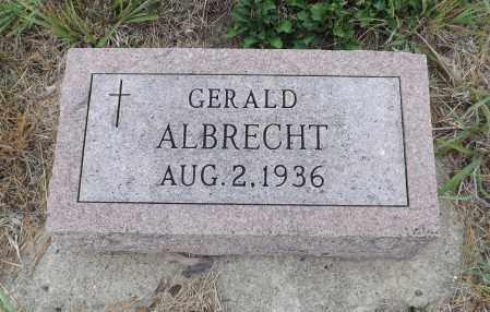 ALBRECHT, GERALD - Pierce County, Nebraska | GERALD ALBRECHT - Nebraska Gravestone Photos
