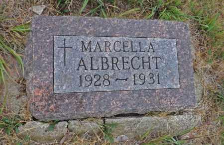 ALBRECHT, MARCELLA - Pierce County, Nebraska | MARCELLA ALBRECHT - Nebraska Gravestone Photos