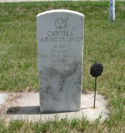 ARMSTRONG, CURTIS L. - Pierce County, Nebraska | CURTIS L. ARMSTRONG - Nebraska Gravestone Photos