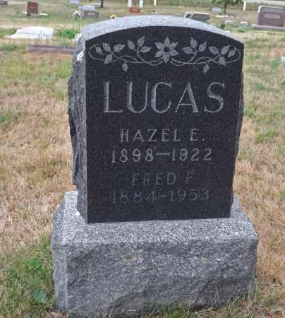 LUCAS, FRED F. - Pierce County, Nebraska   FRED F. LUCAS - Nebraska Gravestone Photos