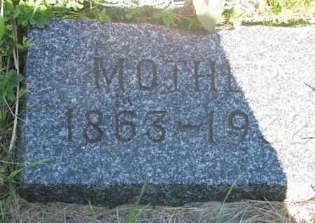 LUCAS, MOTHER - Pierce County, Nebraska   MOTHER LUCAS - Nebraska Gravestone Photos