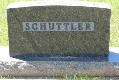 SCHUTTLER, FAMILY STONE - Pierce County, Nebraska | FAMILY STONE SCHUTTLER - Nebraska Gravestone Photos