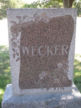 WECKER, *FAMILY MONUMENT - Pierce County, Nebraska | *FAMILY MONUMENT WECKER - Nebraska Gravestone Photos