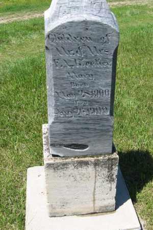 WECKER, MARY - Pierce County, Nebraska | MARY WECKER - Nebraska Gravestone Photos