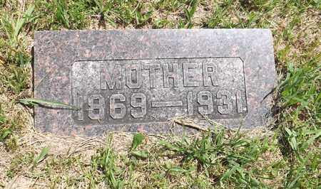 WECKER, MARY - Pierce County, Nebraska | MARY WECKER - Nebraska Gravestone Photos