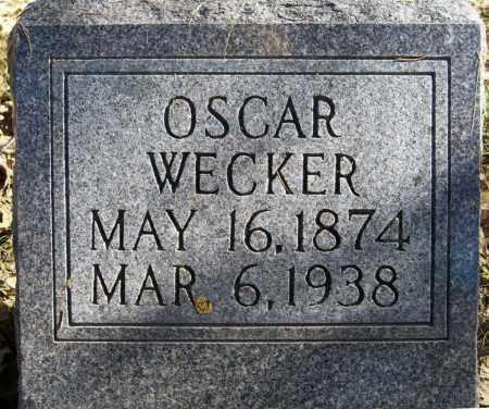 WECKER, OSCAR - Pierce County, Nebraska   OSCAR WECKER - Nebraska Gravestone Photos