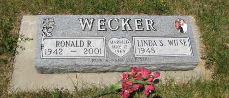 WECKER, RONALD R. - Pierce County, Nebraska   RONALD R. WECKER - Nebraska Gravestone Photos