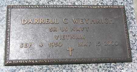 WEYHRICH, DARRELL C. - Pierce County, Nebraska | DARRELL C. WEYHRICH - Nebraska Gravestone Photos