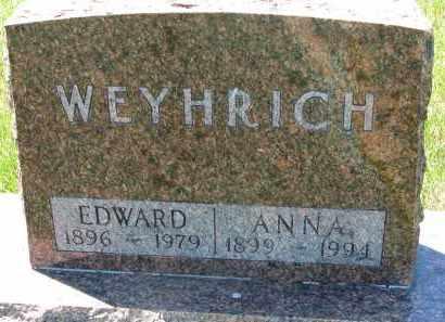 WEYHRICH, ANNA - Pierce County, Nebraska | ANNA WEYHRICH - Nebraska Gravestone Photos